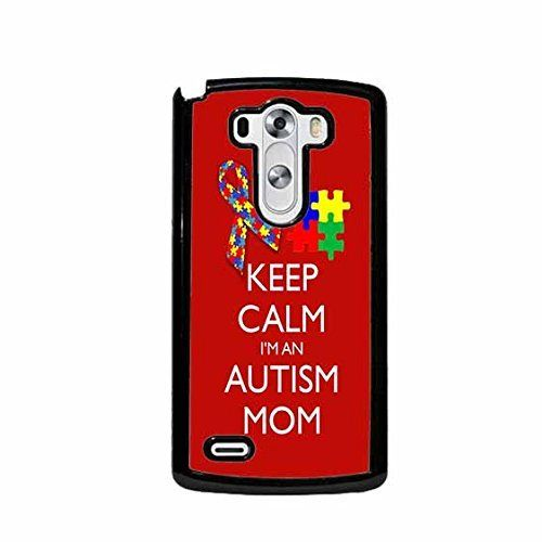 Keep Calm I'm An Autism Mom Ribbon And Puzzle LG G3 (Not for Verizon) Plastic Cell Phone Case Cover Designed by  Future Sales Inc for the listed phone model from any carrier. Our cases are a perfect stylish way to protect the back of your iPhone. Lig...  #Autism #AutismAwareness #AutismHour #AutismInMyLife #AutismParents #AutismTMI #Autistic #Calm #Case #Cell #Cover #G3 #Im #LG #Mom #Phone #Plastic #Puzzle #RIBBON #Verizon