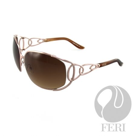 FERI Shiraz - Rose Shield - FERI frames are manufactured in Italy - Lenses are UV 400 and provide protection against harmful UV rays - Mazzucchelli acetate is used - Mazzucchelli is the world leader in acetate production - Acetate is a hypo allergenic plastic - Acetate is used for its shine, color depth and durability  Invest with confidence in FERI Designer Lines.
