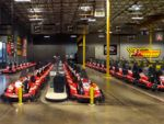 POLE POSITION RACEWAY, LAS VEGAS: If you and the kids are seeking a bit of speed, this indoor go kart raceway will have you flying around the track at speeds of up to 45 MPH. Race on the large indoor race track against your family and friends on high tech electric go karts the blaze through the turns, curves and straightaway's. At the end each driver gets a printed SpeedSheet which shows your average lap time, fastest lap time as well as the overall race results.