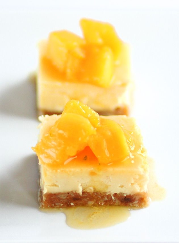 Mango Crisp With Macadamia Nut Crust Recipe — Dishmaps