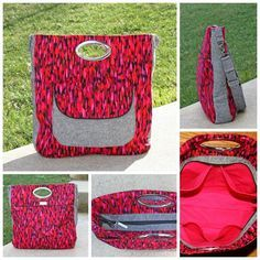Mrs H - the blog: Changing the front pocket on your Window Shopper Tote