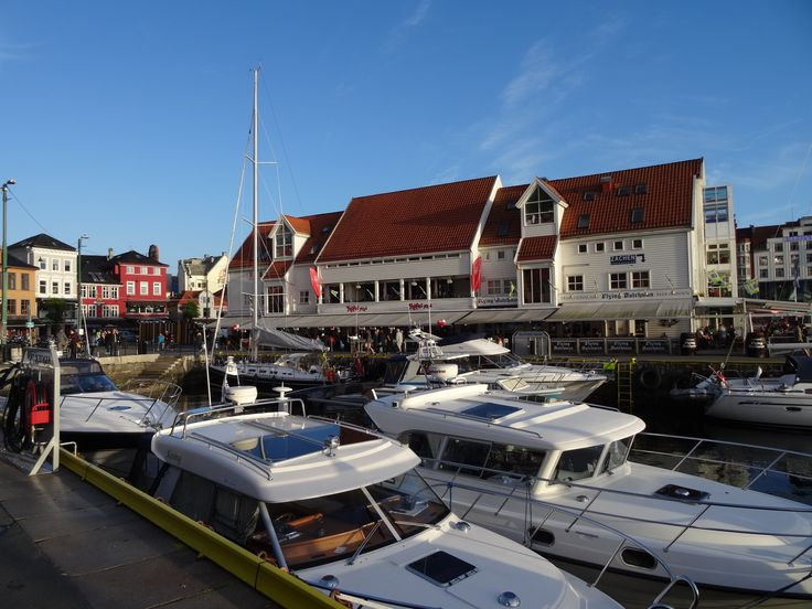 """This place is called """"Fiskerbrygga) in Bergen"""