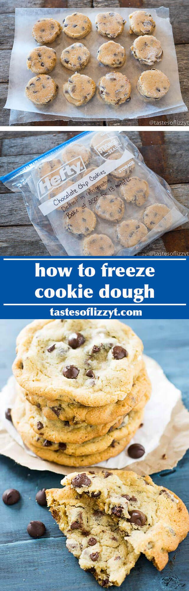 Your complete guide on how to freeze cookie dough. Our best cookie recipes to freeze, plus tips and techniques for quick, easy, cookie baking.