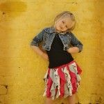 Make a Cascading Ruffle Skirt from Old T-Shirts!!