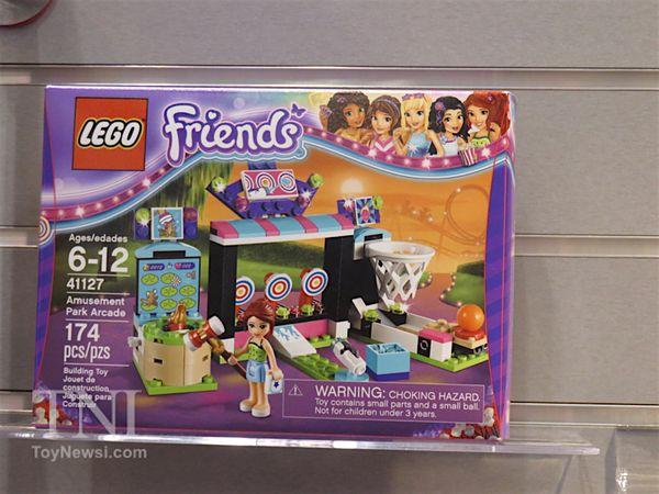 Lego Friends Amusement Park Arcade $20 ~ Lego Friends summer 2016 sets