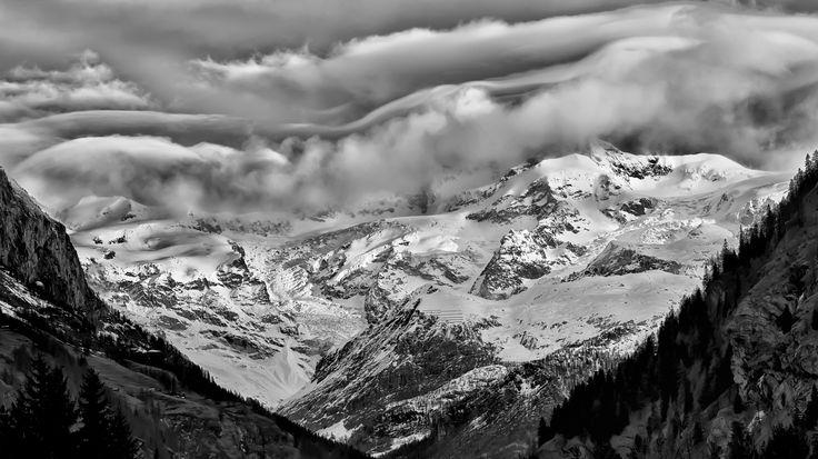 Rocks, snow & waves by Giorgio Sitta on 500px