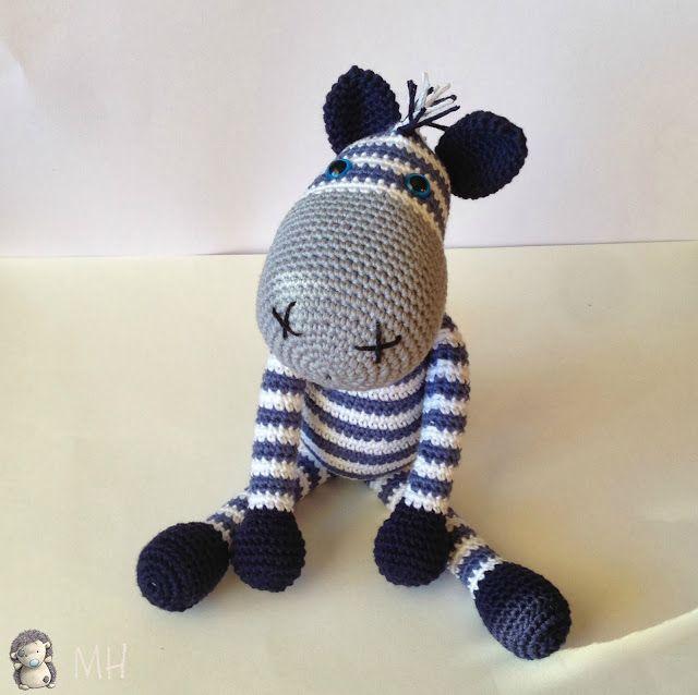 MÈRES hyperactifs: artisanat et de bricolage avec et pour les enfants: Zebra Amigurumi, Patron Gratuit