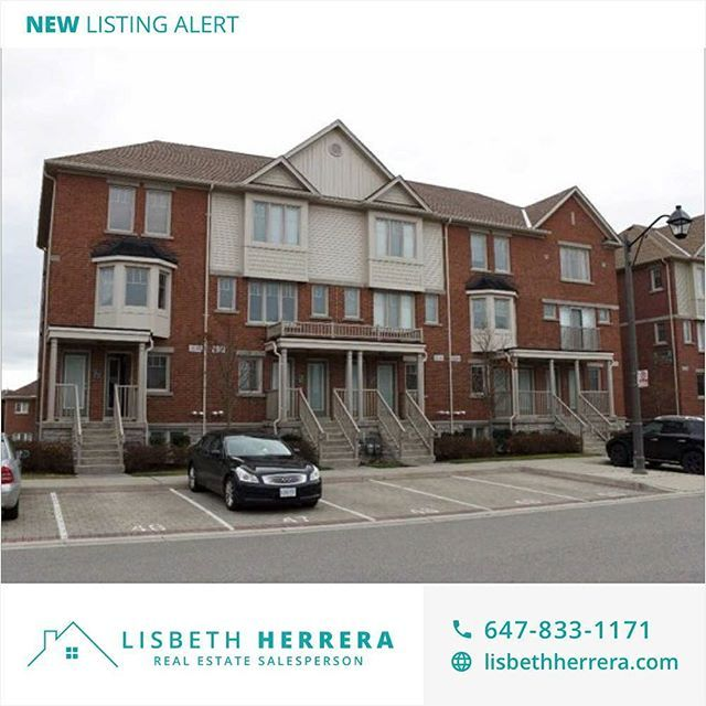 New listing alert! 💥 Townhouse de 2 pisos para la RENTA en Mississauga 🏡 2 habitaciones + 3 baños + lavandería + 1 puesto de estacionamiento y más! 👌🏼 Cerca de la intersección entre Tenth & Thomas 📍 Contáctame si quieres más información! 📩 • • • New listing alert! 💥 2-storey Townhouse available for RENT in Mississauga 🏡 2 bedrooms + 3 washrooms + laundry + 1 parking space and more! 👌🏼 Close to the Tenth & Thomas intersection 📍 Want more info? Contact me! 📩 • • • #LisbethHerrera…