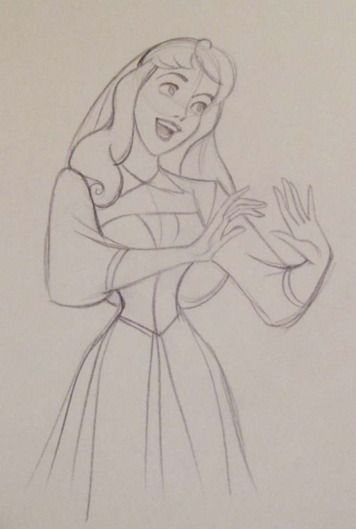 Sleeping Beauty Concept Sketch, the ironic thing is I'm listening to Once Upon a Dream right now and came upon this!