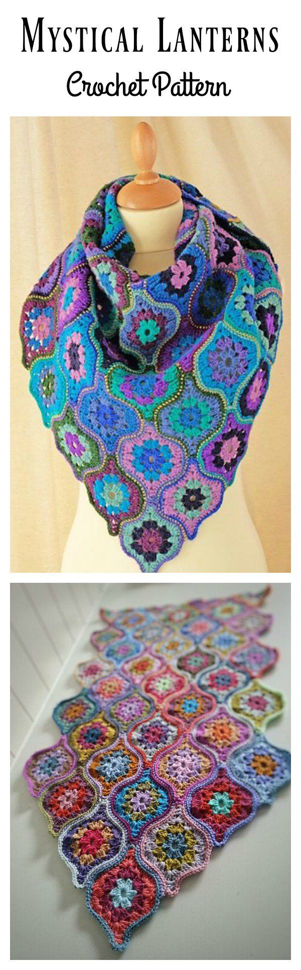 Mystical Lanterns Crochet Pattern
