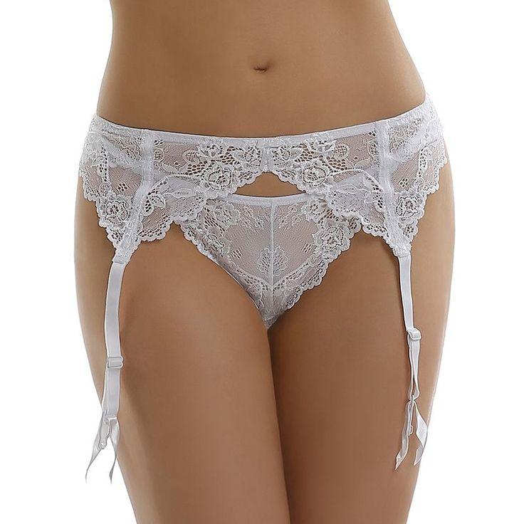Jezebel Caress Too Lace Garter Belt 40533 - Women's, Size: