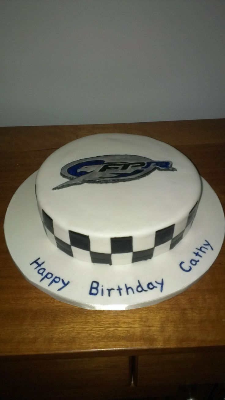 Ford Performance Racing cake