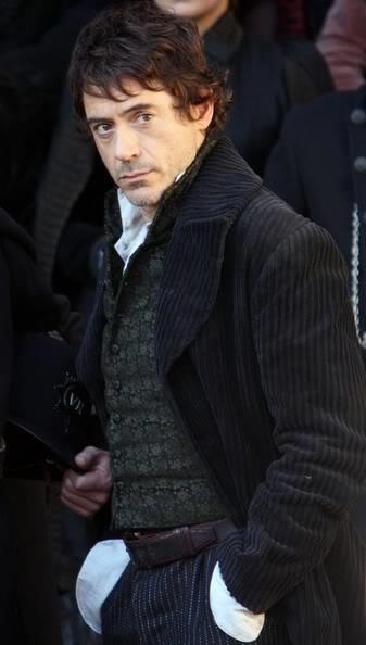 Robert Downey Jr. Photos: Robert Downey Jr. On The Set Of 'Sherlock Holmes' 2