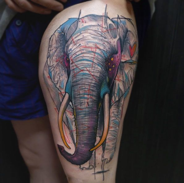 200 Most Popular Elephant Tattoos And Meanings Nice Check: 1000+ Ideas About Elephant Tattoo Design On Pinterest