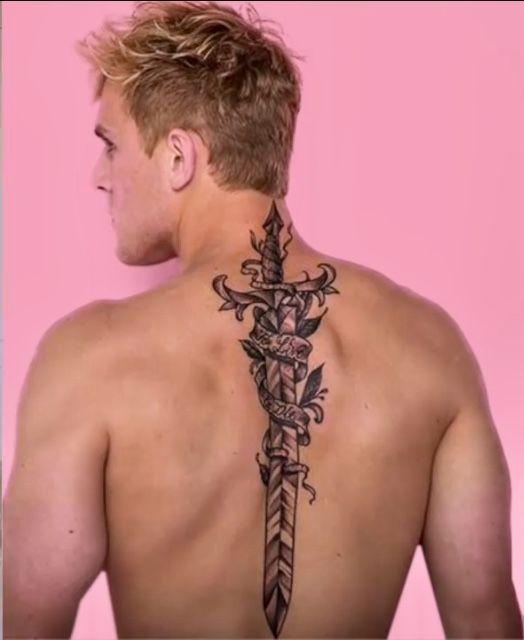 5ae85b397 The new tattoo | Team10 in 2019 | Logan jake paul, Jake paul team 10 ...