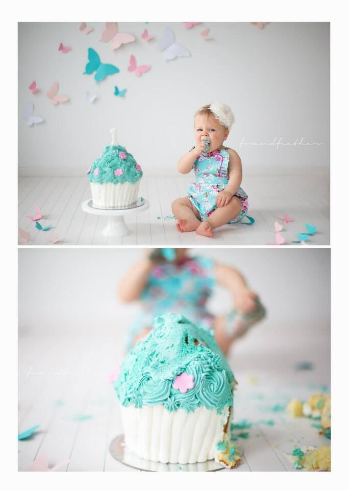 First Birthday Cake Smash Photography Melbourne