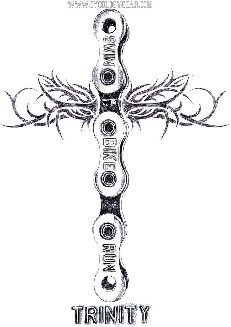 14 best Ironman Triathlon Tattoo Designs images on