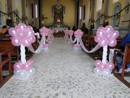119 best images about decoracion con globos on pinterest for Ideas faciles decoracion