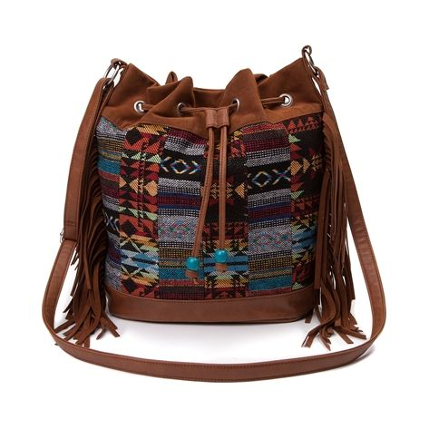 For Womens Tribal Print Handbag In Cognac Multi At Journeys Shoes Today The Hottest Brands Mens And Shoe