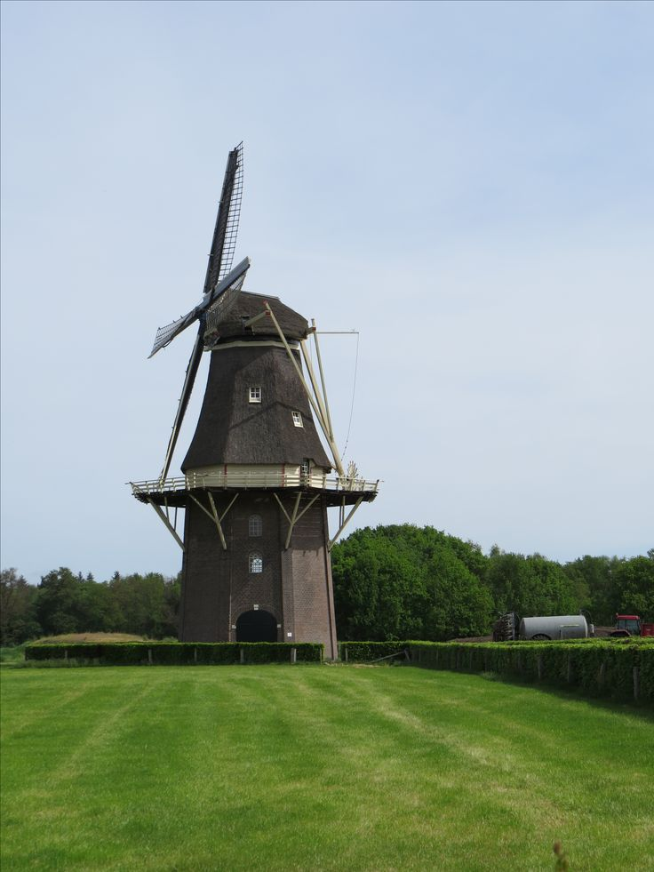 2018-05-21 De windmolen in  Vilsteren is echt een blikvanger