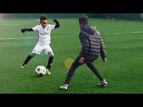 (134) 7 Year Old Kid Shows Ronaldo Skills - Tutorial for Kids - YouTube