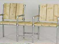 Steigerbuis meubelen / werktekeningen