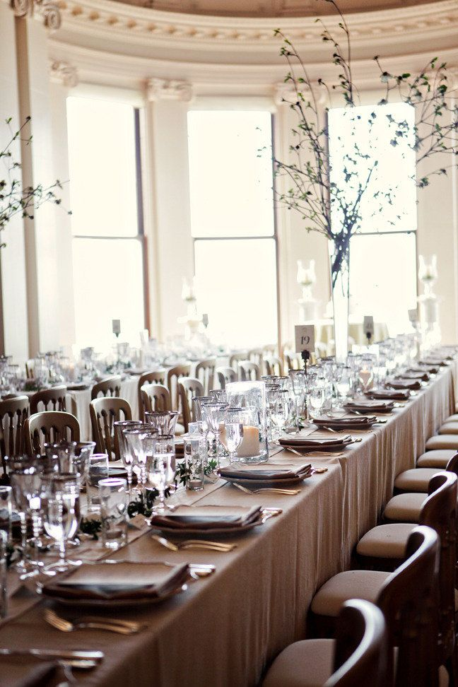 A sophisticated tablescape. Photography By firstcomeslovephoto.com, Event Design By shannonleahy.com