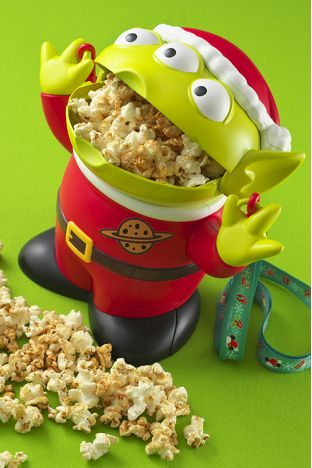 Little Green Men popcorn holder from Tokyo Disney Land!!! omg lol i seriously want this!!!