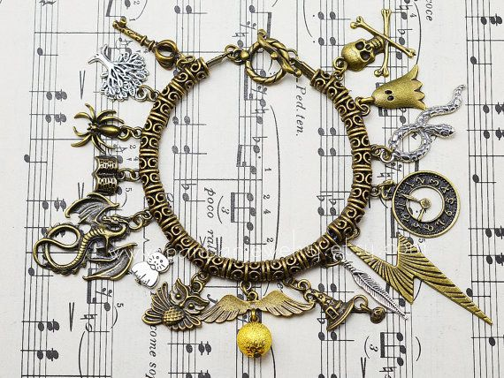 If you're not charmed by this bracelet, I can't help you. | 17 Pieces Of Harry Potter Bling That Can Charm Even Muggles
