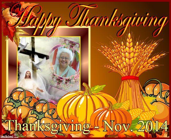 Thanksgiving Nov. 2014