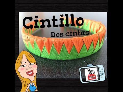 M Como hacer un Cintillo de 2 cintas - How to make a headband | Creations Nani - YouTube