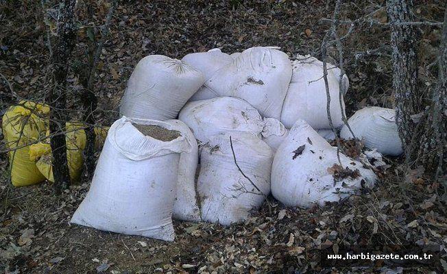 Diyarbakır'da 7 ton esrar ele geçirildi Diyarbakır'da terör örgütü PKK'ya yönelik operasyonda 7 ton 244 kilogram esrar ele geçirildi.