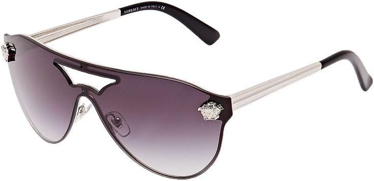 Buy Versace Oval Women's Sunglasses - VE2161-10008G-42 - --140 mm - Eyewear | UAE | Souq