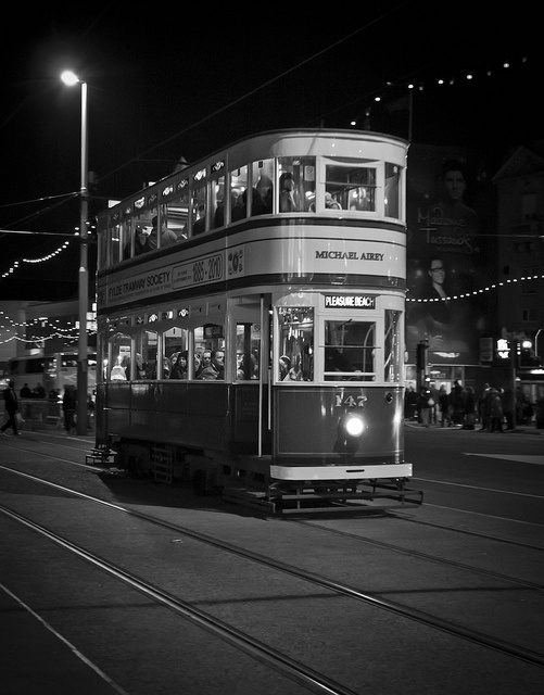 Tram Blackpool by Dave Kinsella Photography, via Flickr