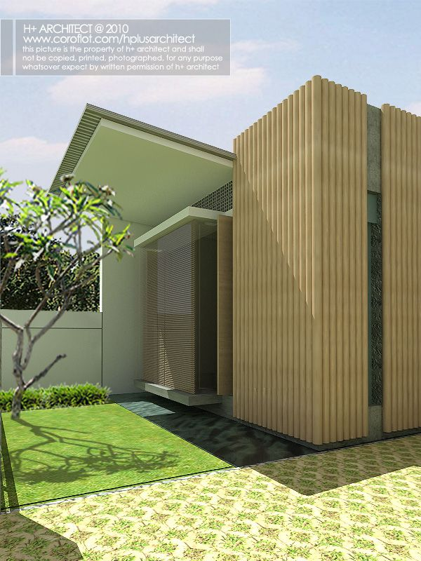 Compeion Rumah Mungil Hijau By Yudho Patrianto At Coroflot Y Indonesia Modern Contemporary Homes Pinterest House Design And Home