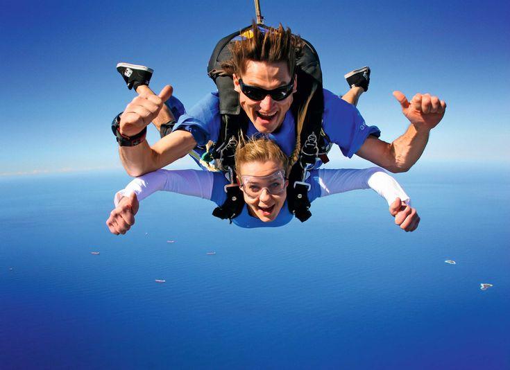 St Kilda Tandem Beach Skydive, #Melbourne, #Australia