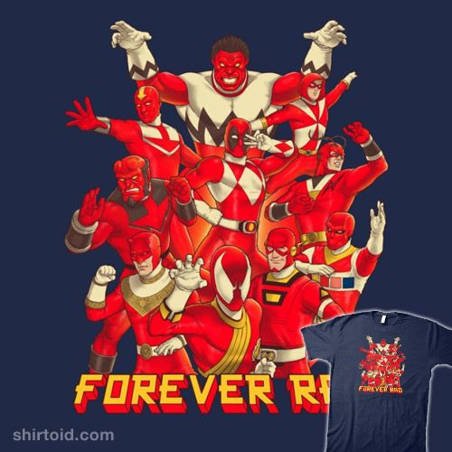 Forever Rad #aang #batang9tees #comic #comics #daredevil #deadpool #film #greenarrow #hellboy #hulk #mightymorphinpowerrangers #movie #redskull #spiderman #theflash #tvshow