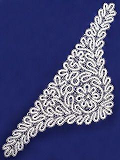 Купите Кружевная косынка бежевая, арт. 7нхп-491 по низкой цене в магазине «Тульские самовары»