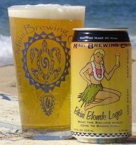 Beer Review: Bikini Blonde Lager - Maui Brewing Company #Lager #beer #beershark