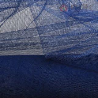 Tyl temně modrý FRENCH NAVY | Tyl š. 137 cm | Důmlátek.cz - látky a metráž