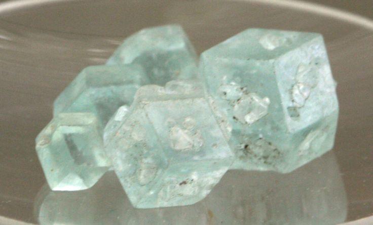 Boracite Mineralogisches Museum Bonn