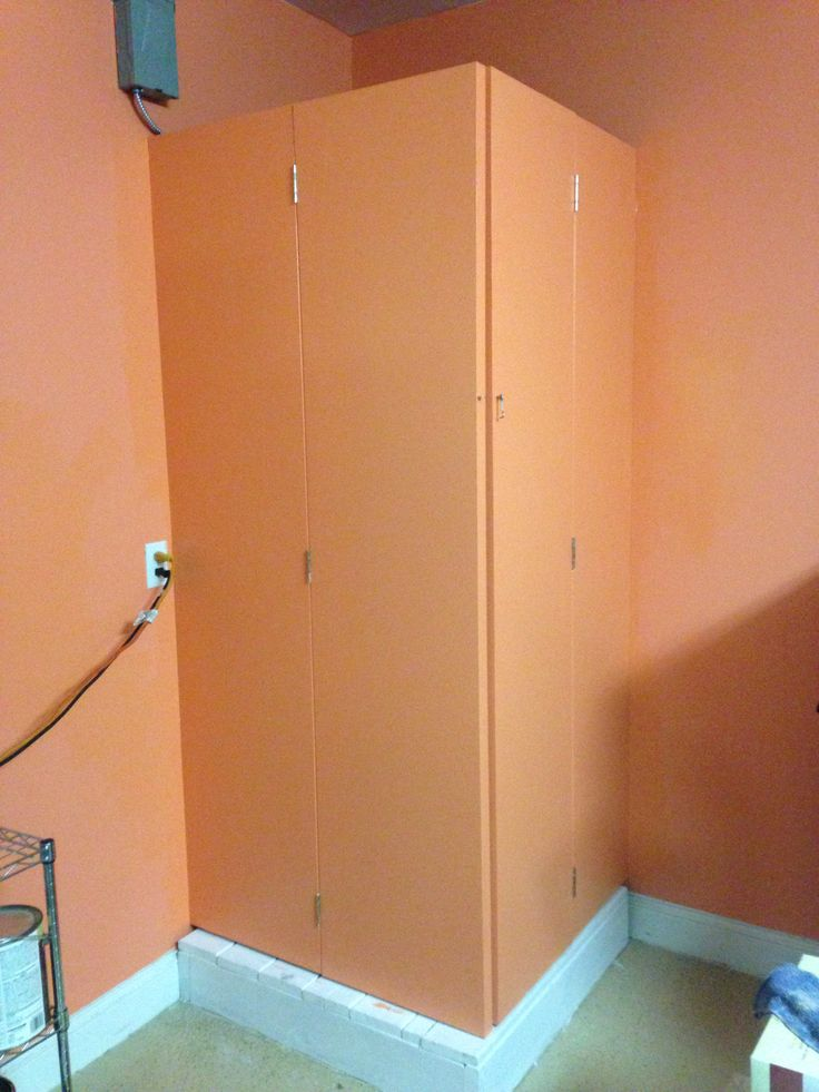 Hot Water Heater Cover Using Bifold Closet Doors Hot