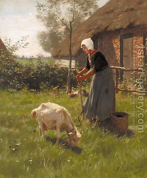 http://www.1st-art-gallery.com/thumbnail/322932/1/A-Farmer$27s-Wife-Tending-To-The-Livestock.jpg