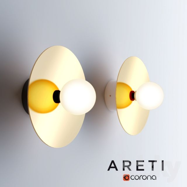 models Wall light - ARETI - Disk and Sphere - Wall l& & 539 best 3dsMax // Lighting images on Pinterest | Ceiling lights ... azcodes.com