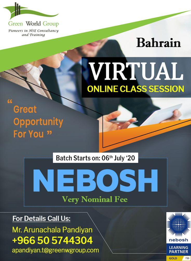 Enhance nebosh igc course live training