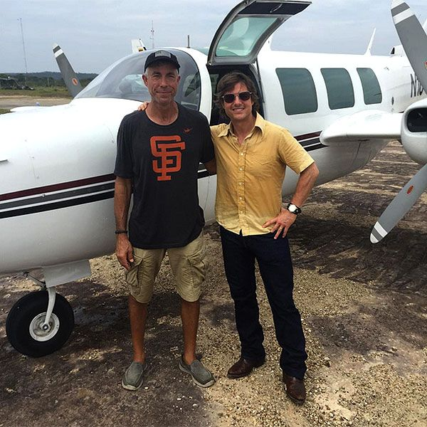 Plane Crash on Set of Tom Cruise Movie Leaves 2 Dead, 1 Injured http://www.people.com/article/plane-crash-tom-cruise-film-set  TOM was NOT on board     so sad these men died   9/11/15
