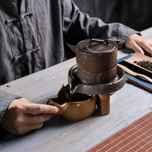 Tang Feng Ceramic Stone Kung Fu Tea Set – Lumi HK Store