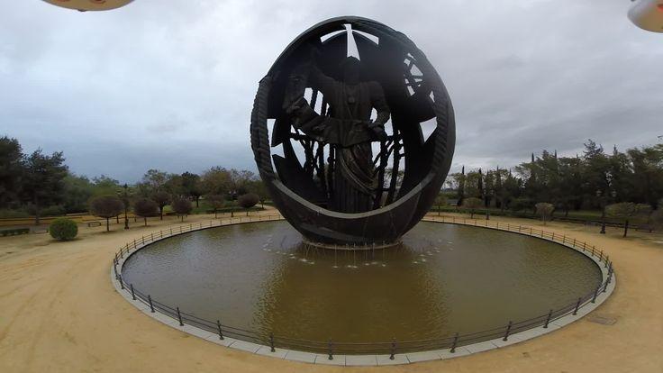 Huevo de Colón (nacimiento del hombre nuevo), Parque de San Jerónimo, Sevilla