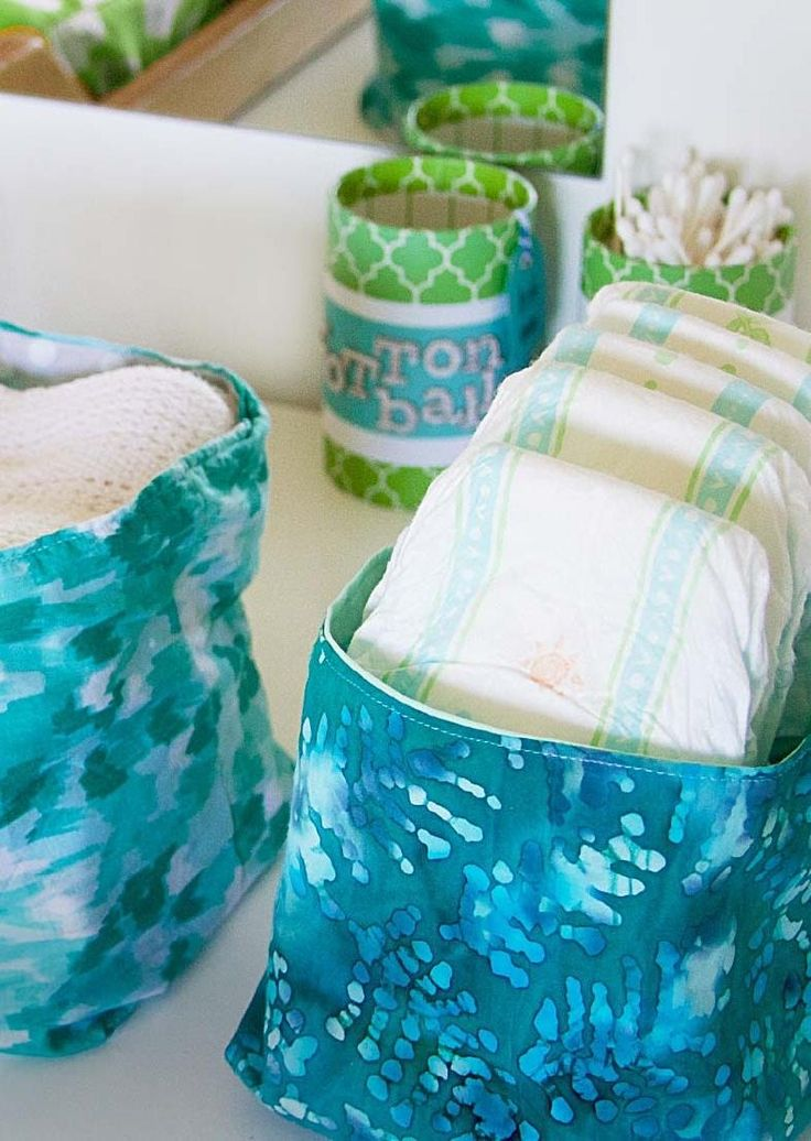 Getting ready for a new baby boy or girl in your life? We've put together five décor ideas for your nursery that will brighten things up and organize the room! From monogrammed tote bags to labels for baby bins, we've got you covered. Click in to see all the projects.