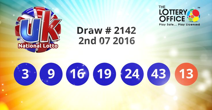 UK National Lotto winning numbers results are here. Next Jackpot: £2.1 million #lotto #lottery #loteria #LotteryResults #LotteryOffice